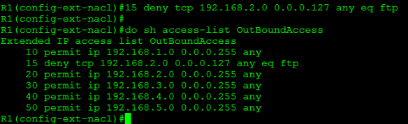 Working with Cisco Access Control Lists / ACLs  | CCIE or Null!