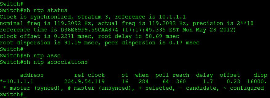 NTP Version 3 | CCIE or Null!