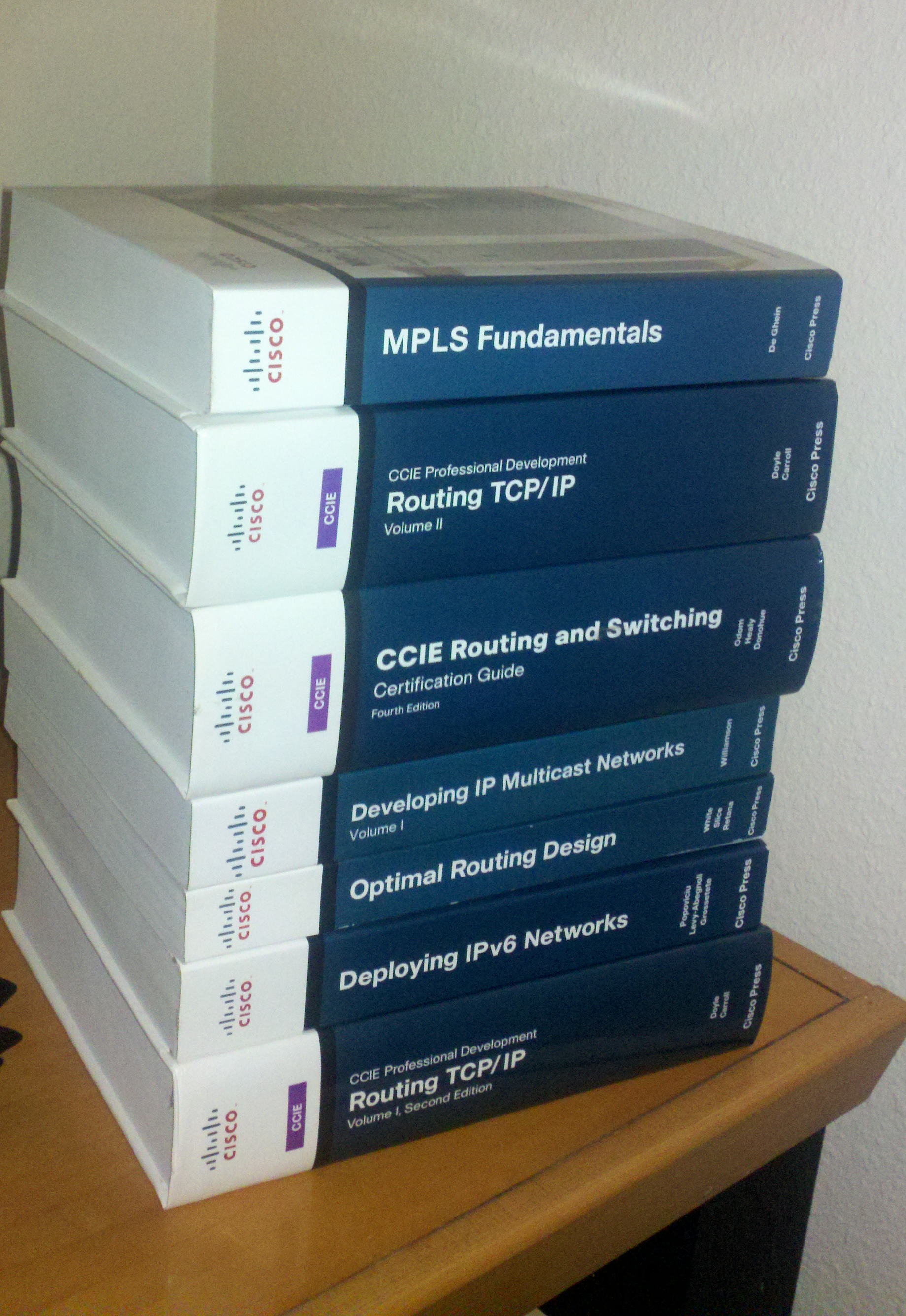 my ccie reading list
