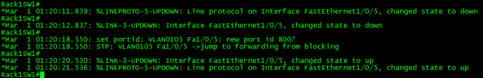 Spanning-Tree TCN with Portfast
